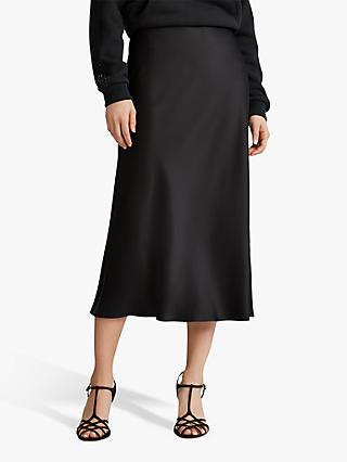 Polo Ralph Lauren Midi Skirt, Polo Black