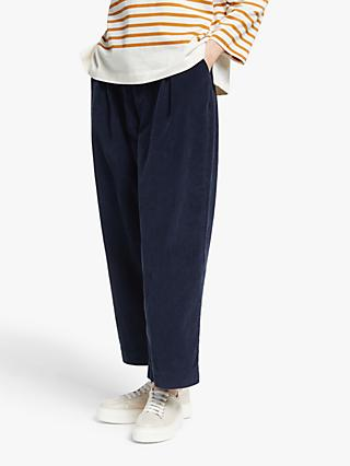 Kin Wide Leg Cord Balloon Trousers