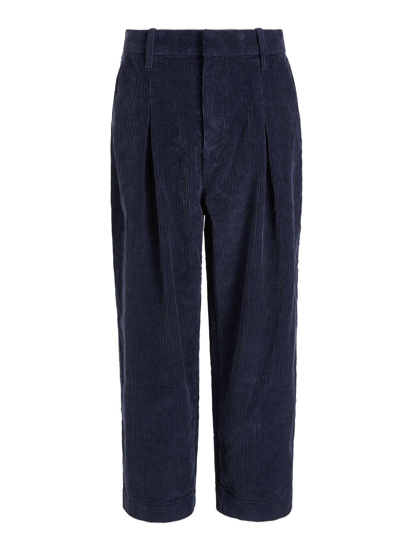 Buy Kin Cord Balloon Trousers, Navy, 16 Online at johnlewis.com