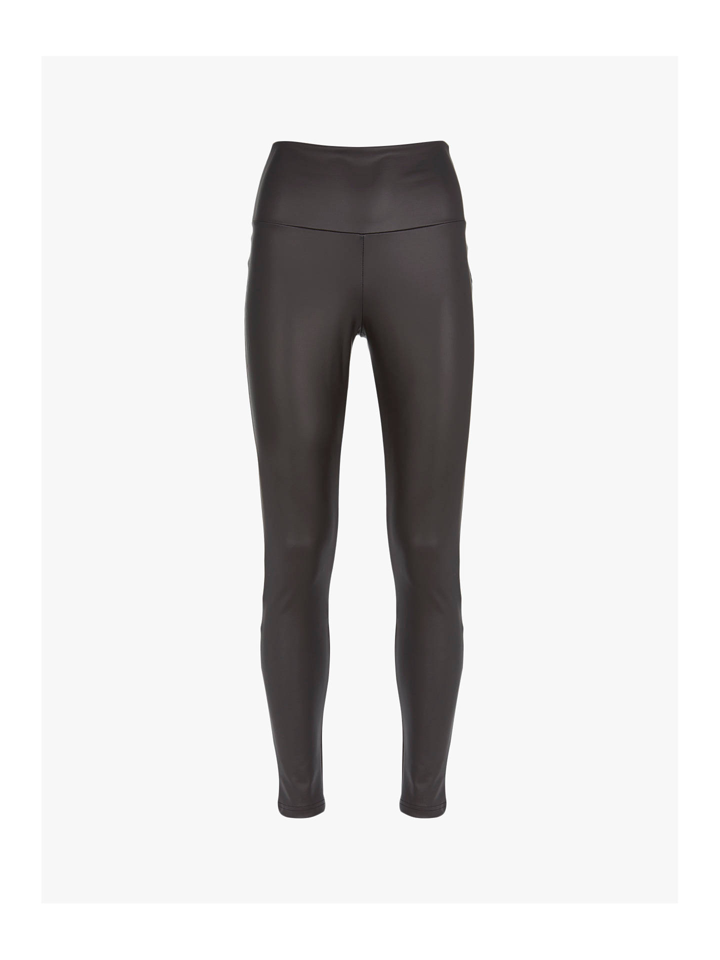 19e4497145cbd Buy Mint Velvet Faux Leather Leggings, Black, XS S Online at johnlewis.com  ...