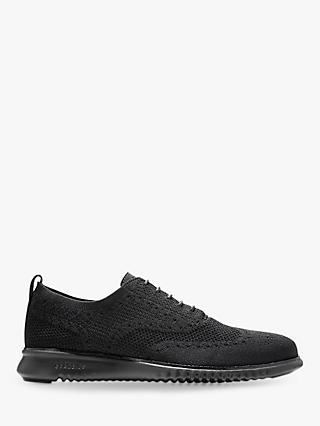 Cole Haan Zerogrand Stitchlite Knitted Oxford Shoes, Black