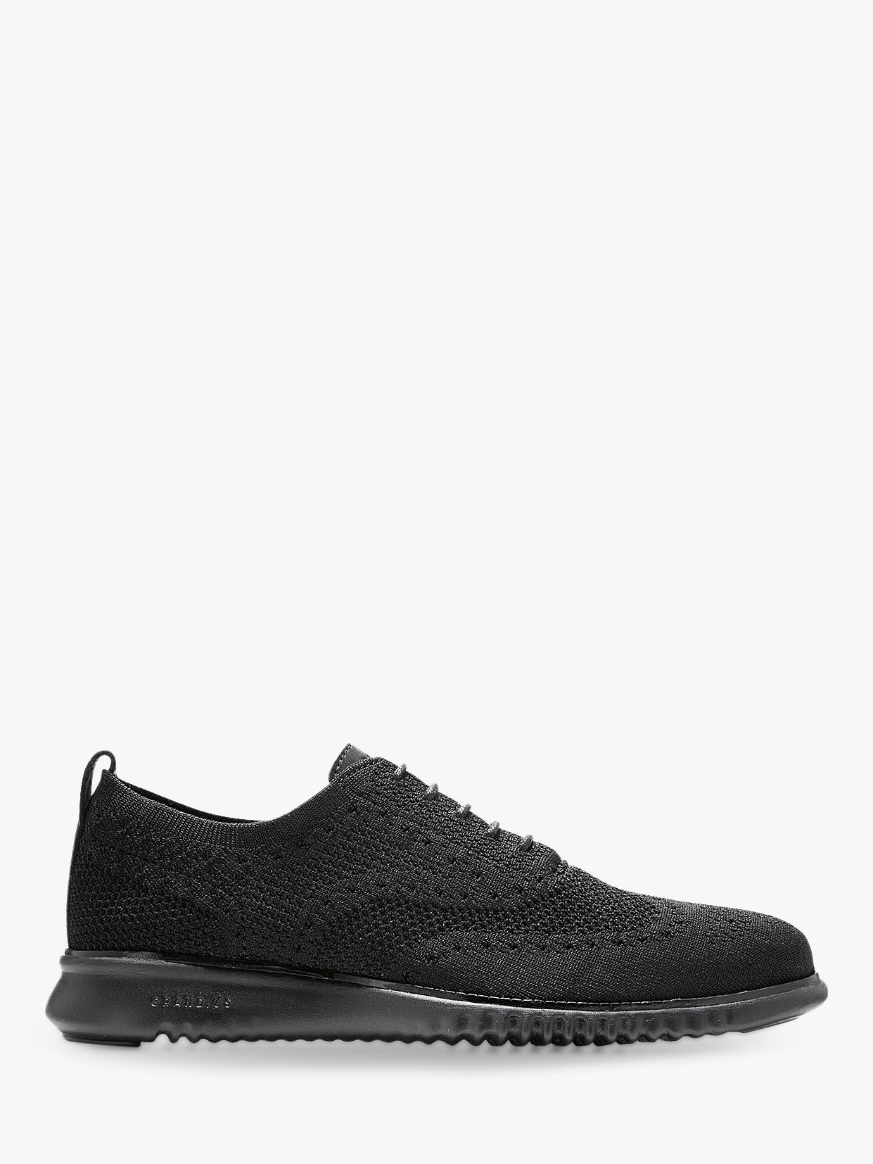 Cole Haan Cole Haan Zerogrand Stitchlite Knitted Oxford Shoes, Black