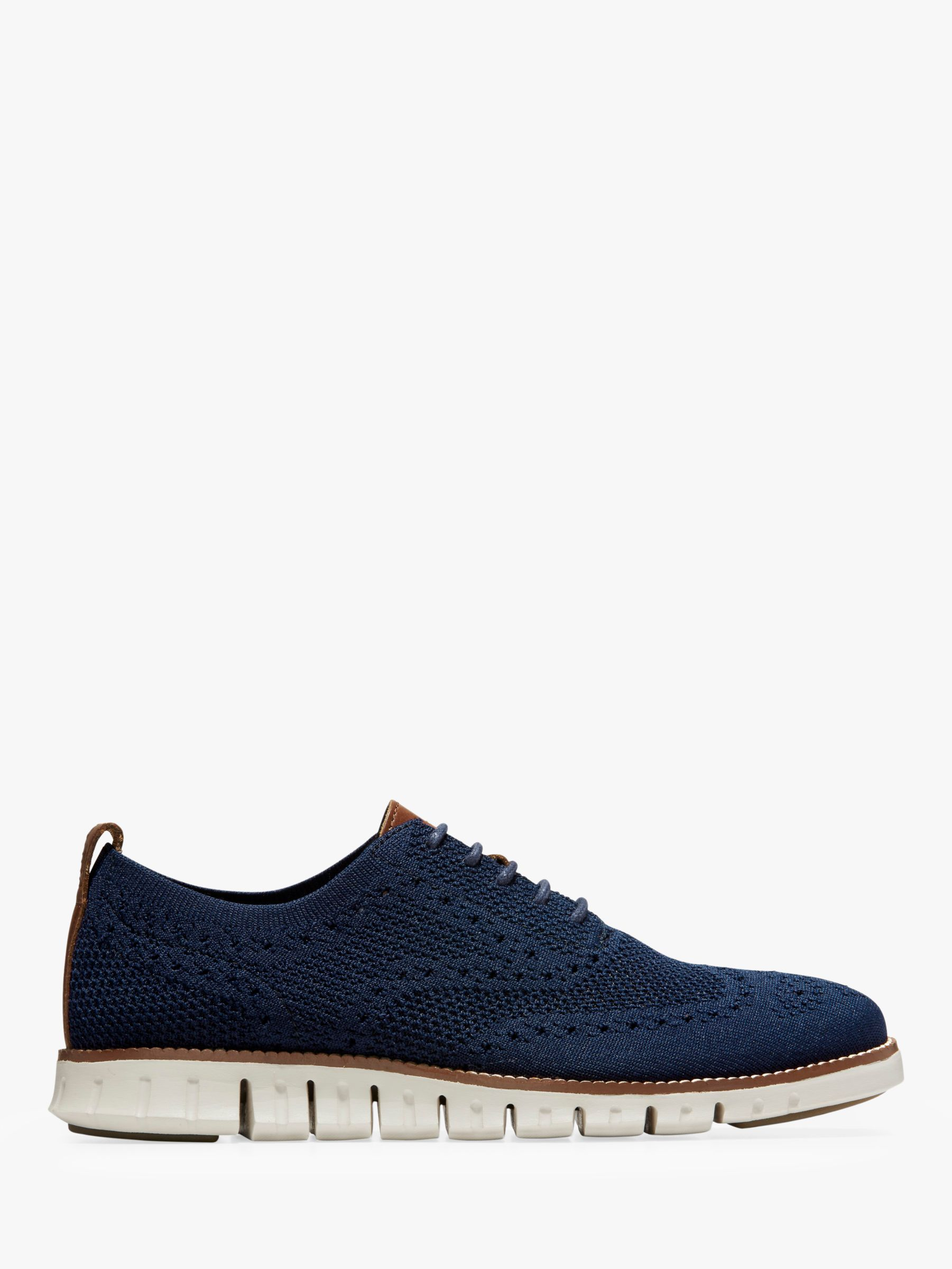 Cole Haan Cole Haan Zerogrand Stitchlite Knitted Oxford Shoes, Marine Blue
