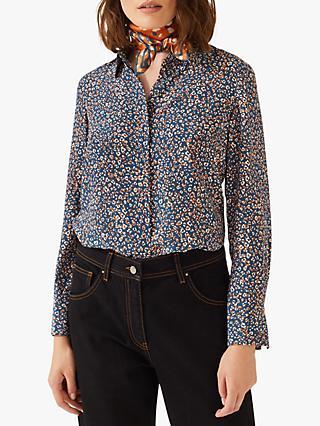355e3da7493d75 Women's Silk Shirts | Blouses & Tops | John Lewis & Partners