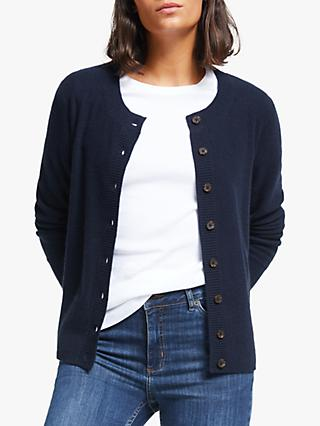 Collection WEEKEND by John Lewis Cashmere Scoop Neck Cardigan