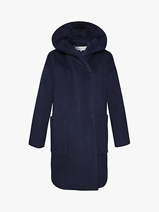 Gerard Darel Phoenix Wool Coat, Blue