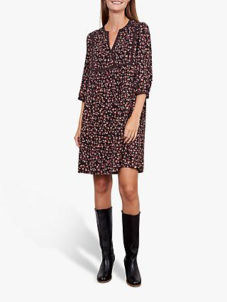 Gerard Darel Dolly Floral Dress, Black/Multi