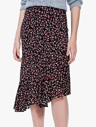 Gerard Darel Teva Skirt, Black Multi