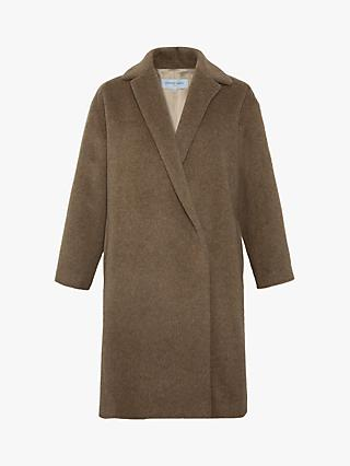 Gerard Darel Pablo Wool Mix Coat, Camel