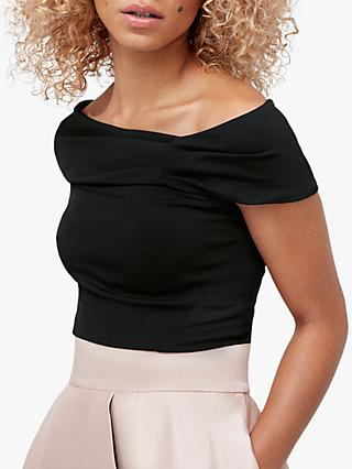 Coast Bardot Top, Black