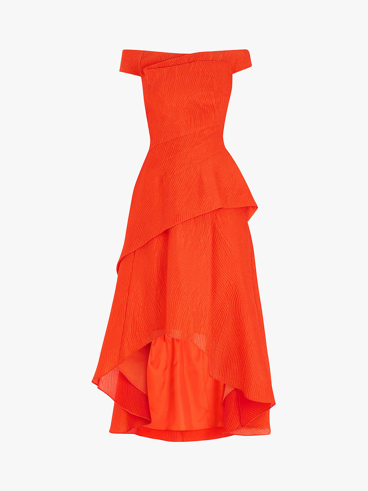 d6eb2ad2e2d982 ... Buy Coast Textured Hi Low Dress, Orange, 6 Online at johnlewis.com ...