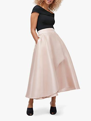 Coast Twill Skirt, Champagne