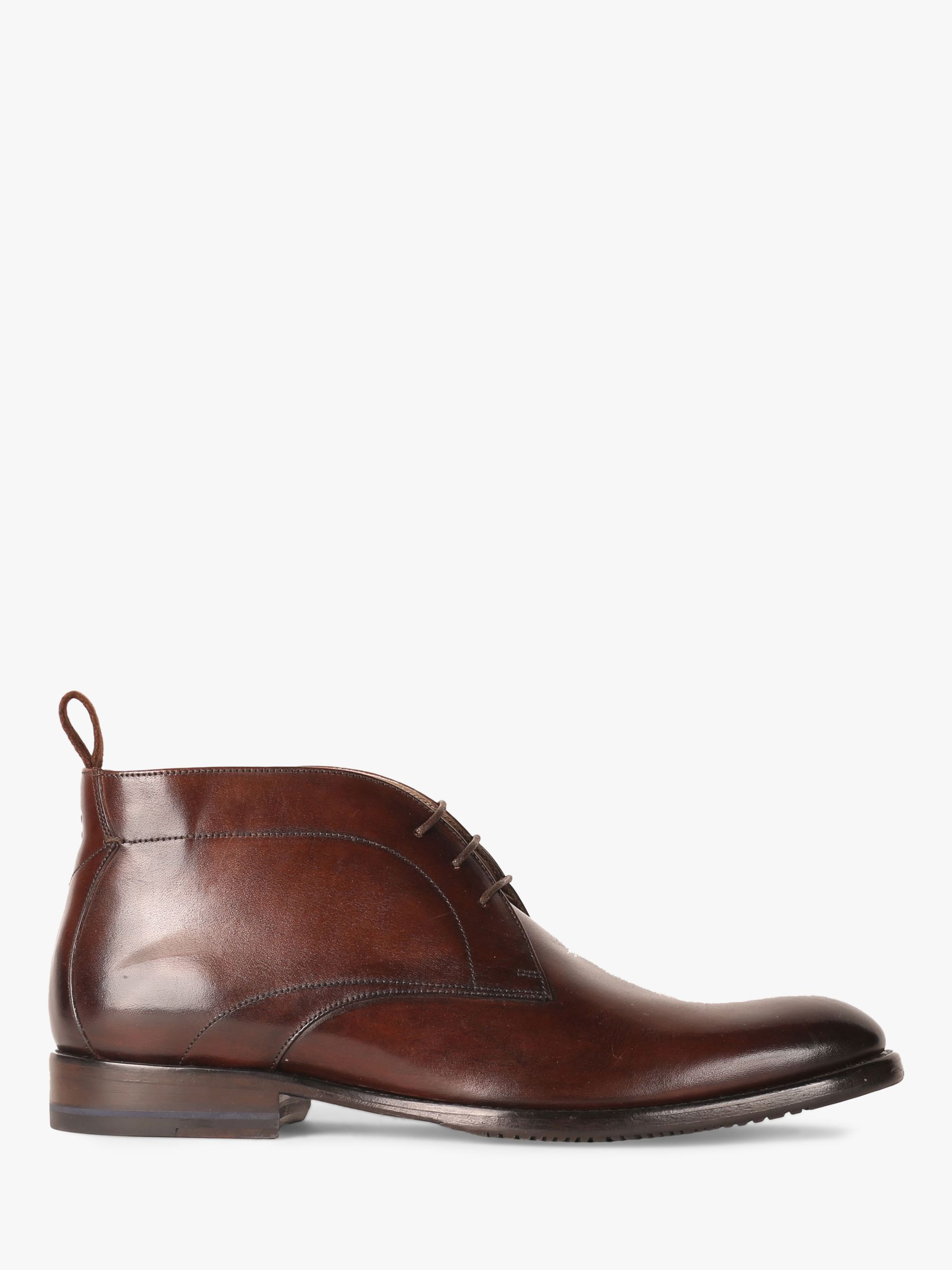 Oliver Sweeney Oliver Sweeney Farleton Leather Chukka Boots, Brown