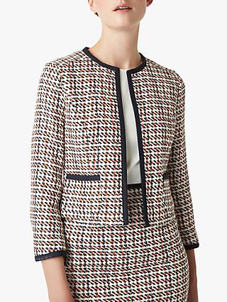 Hobbs Gianna Jacket, Orange/Multi