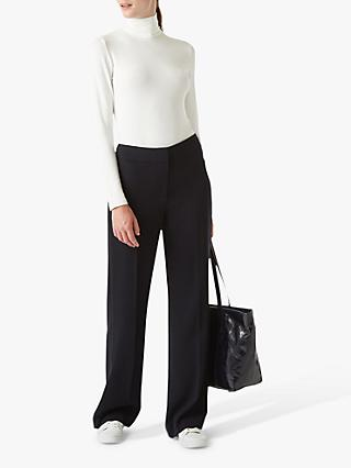 Hobbs Mina Trousers, Navy