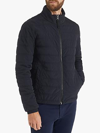 BOSS Owest-D Quilted Jacket, Dark Blue