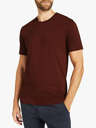 BOSS Lecco Short Sleeve T-Shirt, Dark Red