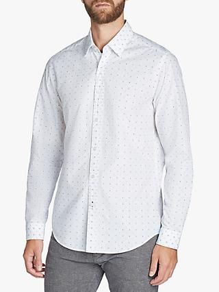 BOSS Lukas Spot Print Regular Fit Shirt