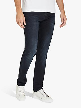 BOSS Taber BC-P Tapered Fit Jeans, Dark Blue