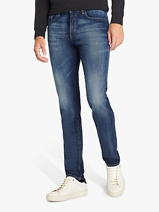 BOSS Delaware3 Slim Fit Jeans, Bright Blue