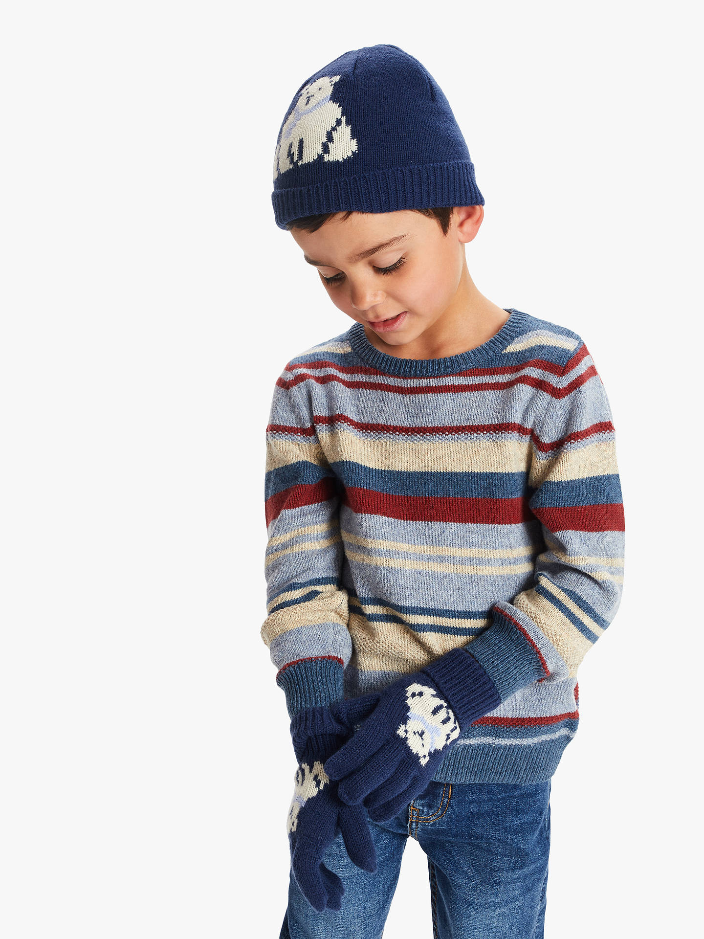 Lego Boys Knit Hat and Gloves Set