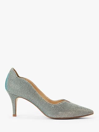 John Lewis & Partners Allina Scalloped Stiletto Heel Court Shoes