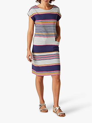 White Stuff Alba Stripe Dress, Multi
