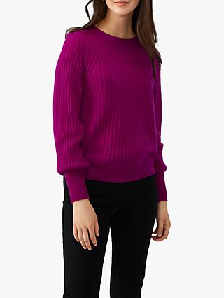 Pure Collection Boat Neck Cashmere Jumper