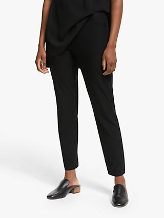 EILEEN FISHER Slim Fit Ankle Trousers