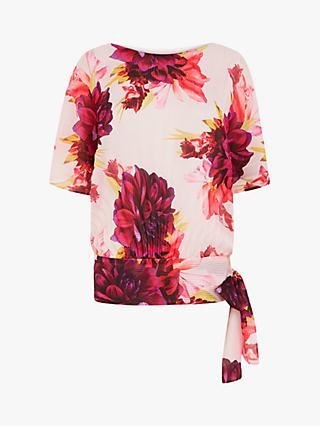 Coast Floral Batwing Top, Multi
