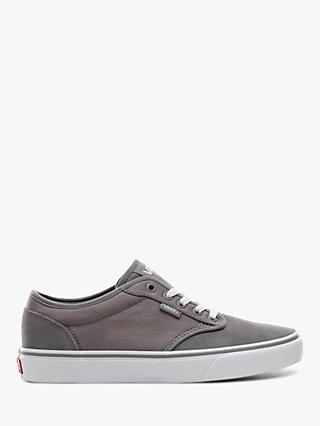 Vans Atwood Suede Trainers, Grey/White