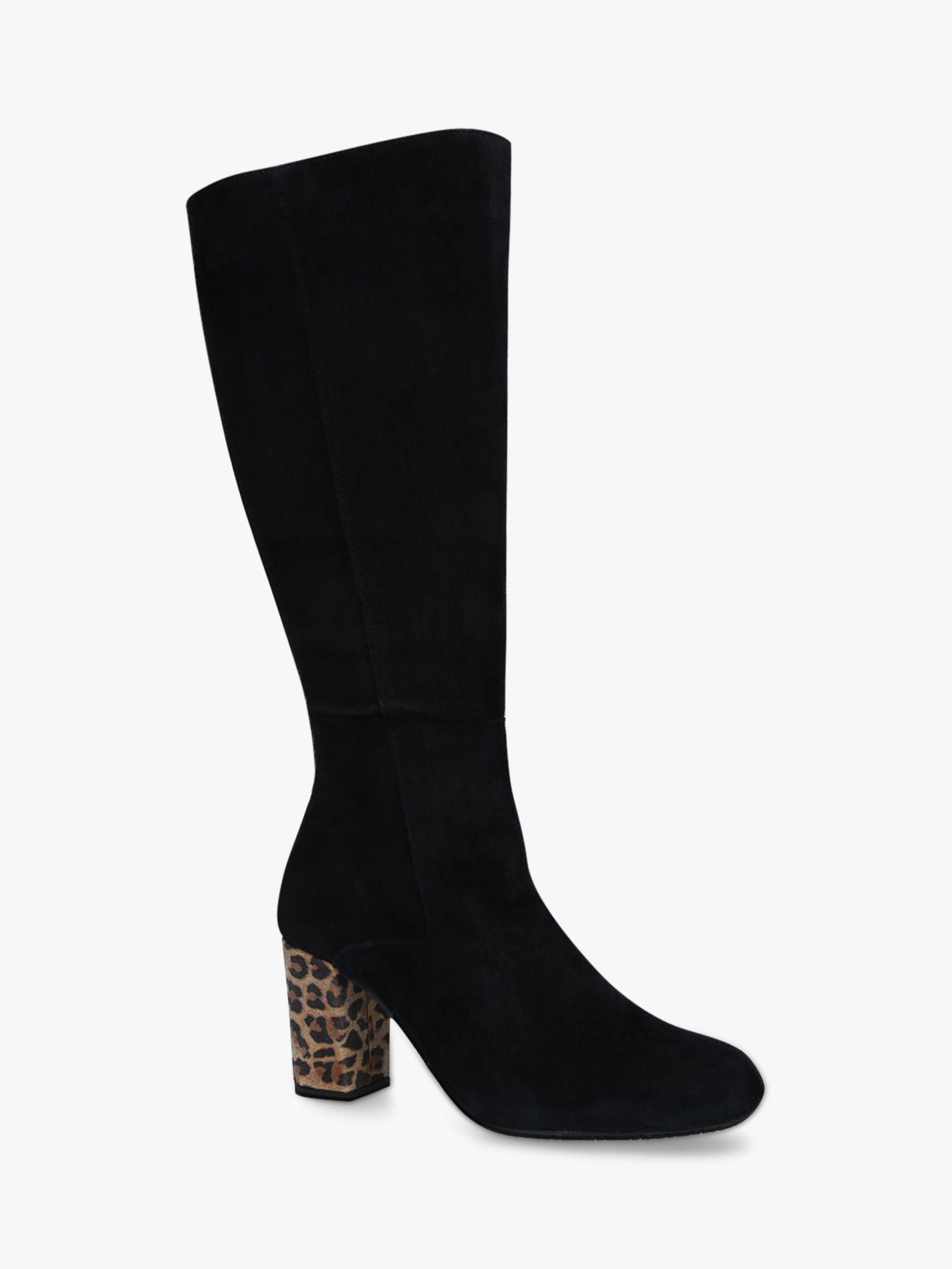 Carvela Comfort Carvela Comfort Veil Suede Knee High Boots, Black