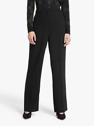 John Lewis & Partners Tailored Trousers, Black