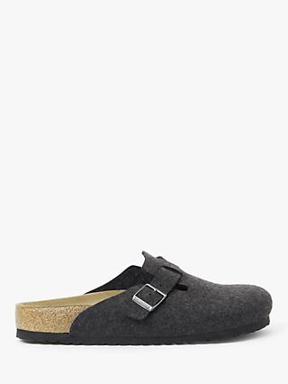 Birkenstock Wool Boston Slippers