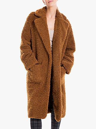 Max Studio Faux Fur Coat, Sienna