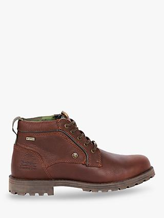 Barbour National Trust Carrock Leather Waterproof Chukka Boots, Brown