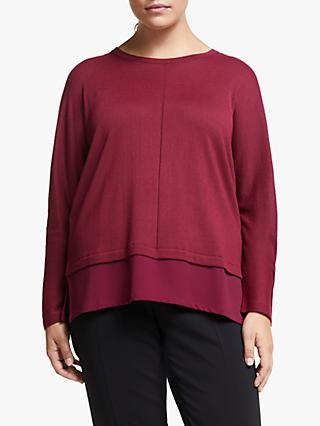 Persona by Marina Rinaldi Long Sleeve Jumper, Wisteria