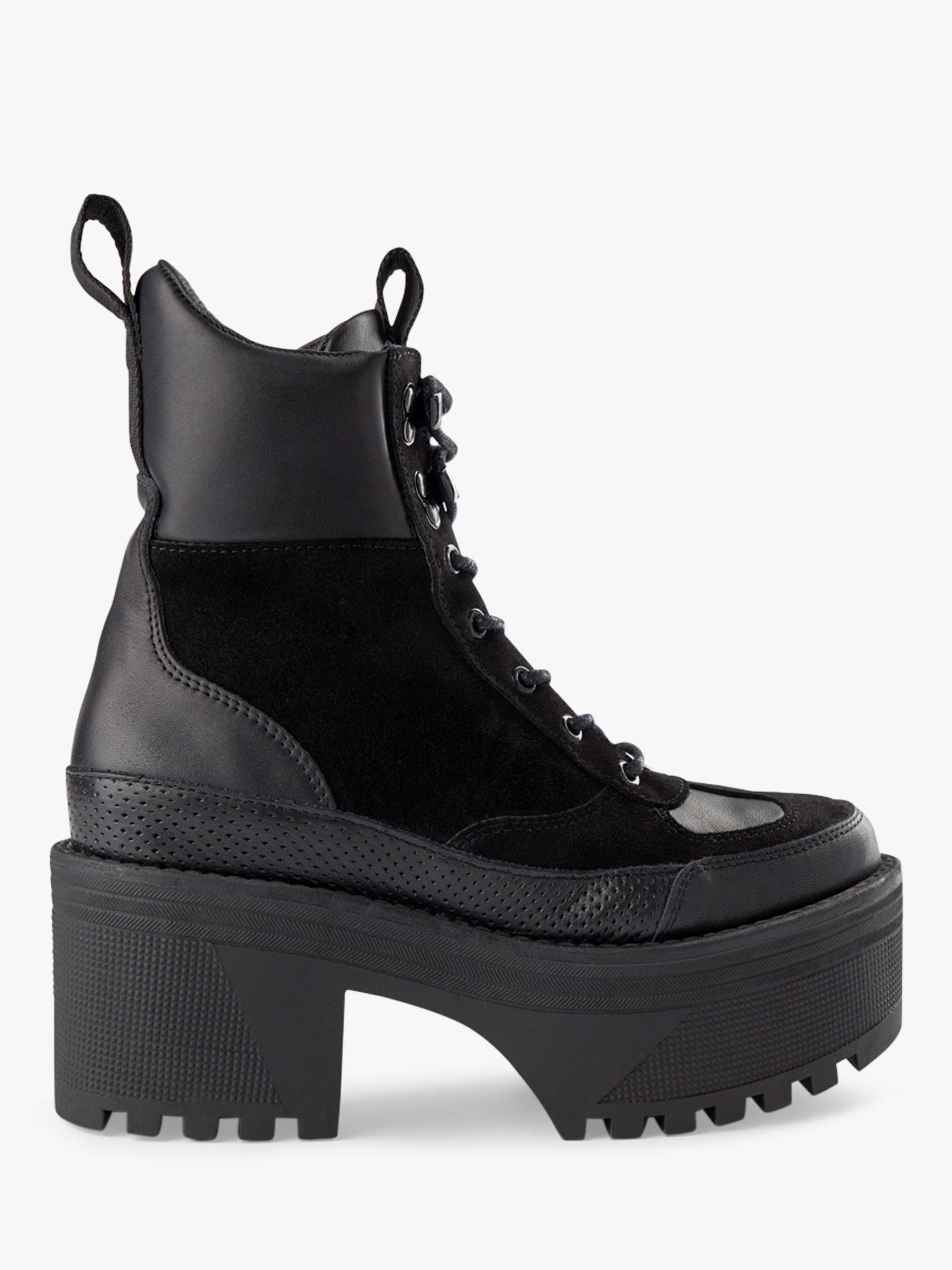 Shoe the Bear SHOE THE BEAR Celeste Hiker Boots, Black