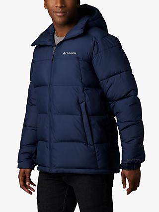 Columbia Pike Lake Hooded Men's Insulated Jacket, Colegiate Navy