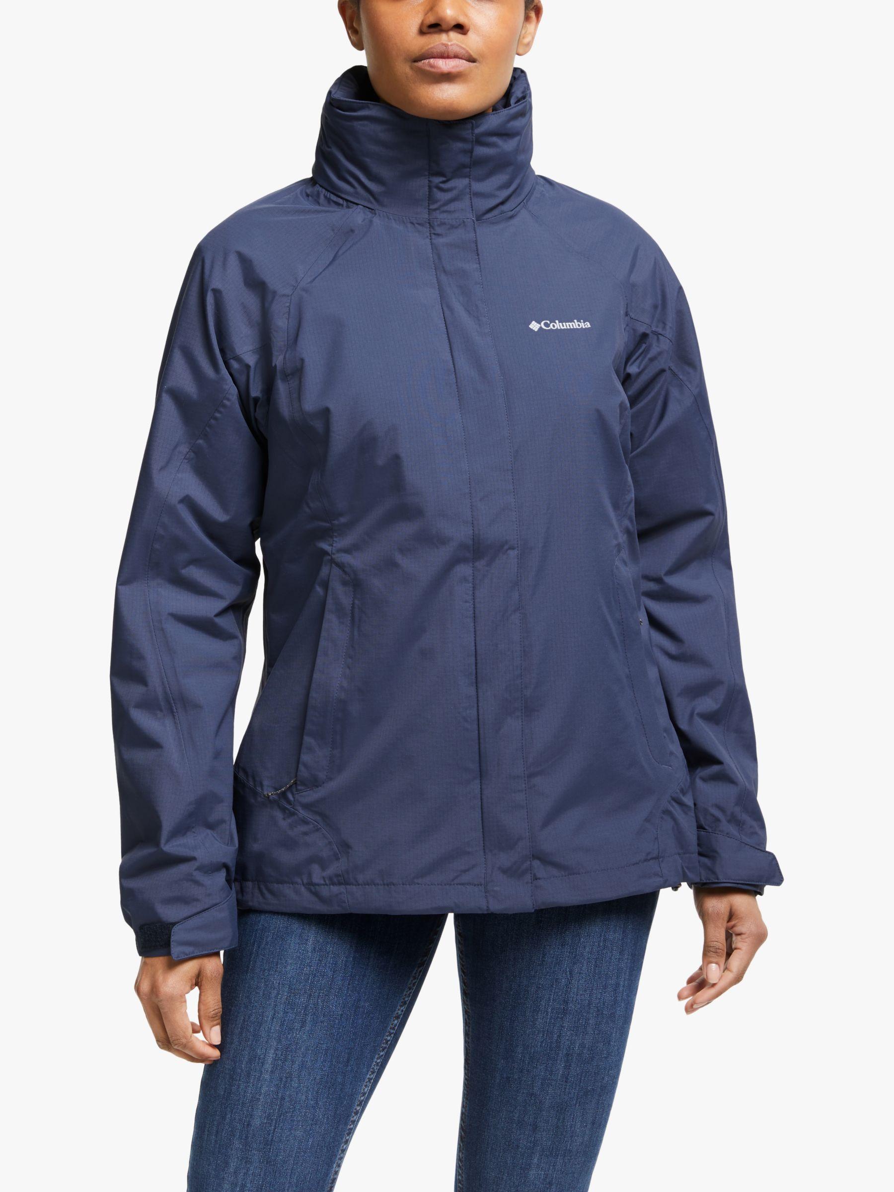 Columbia Columbia Venture On Interchange 3-in-1 Women's Waterproof Jacket, Nocturnal