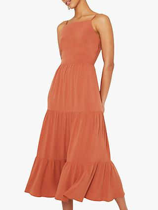 Warehouse Tiered Maxi Dress