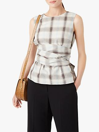 Hobbs Anika Check Top, Multi