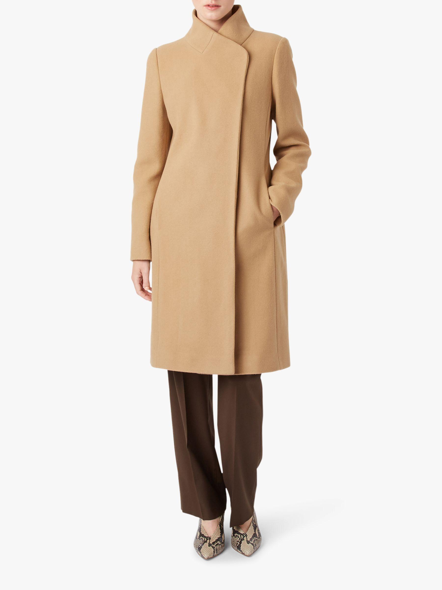Hobbs Romy Coat, Camel at John Lewis
