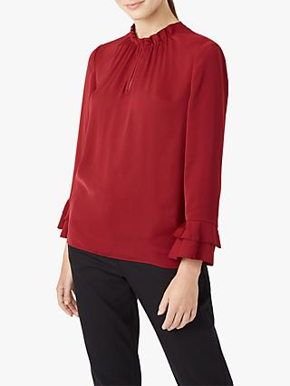 Hobbs Tina Top, Burgundy