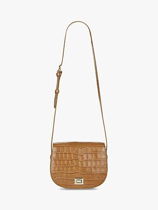 Hobbs Oxford Leather Saddle Bag