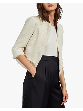 Ted Baker Xeniaa Cropped Jacket, Ivory