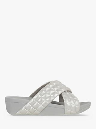 FitFlop Lulu Suede Padded Slide Sandals