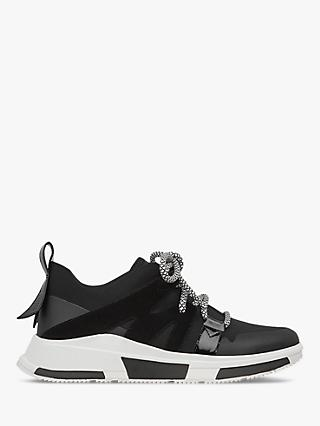 Fitflop Carita Lace Up Trainers, Black