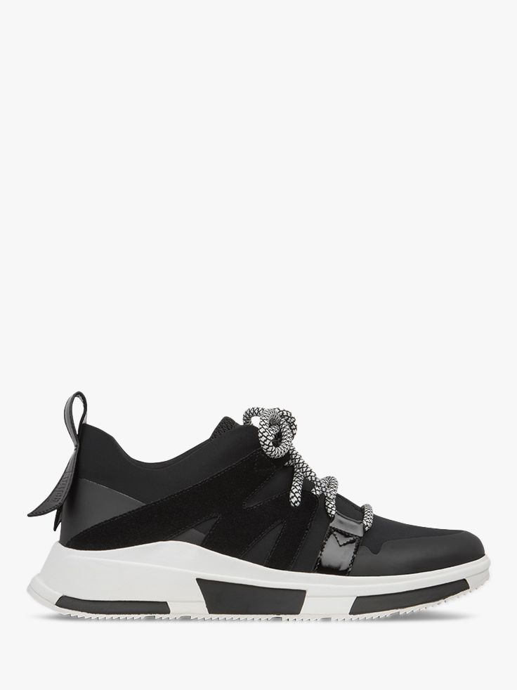 Fitflop Fitflop Carita Lace Up Trainers, Black