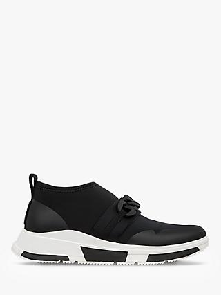 FitFlop Heda Chain Trainers, Black